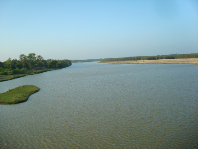 A view of Paravanar estuary, Cuddalore, Tamil Nadu